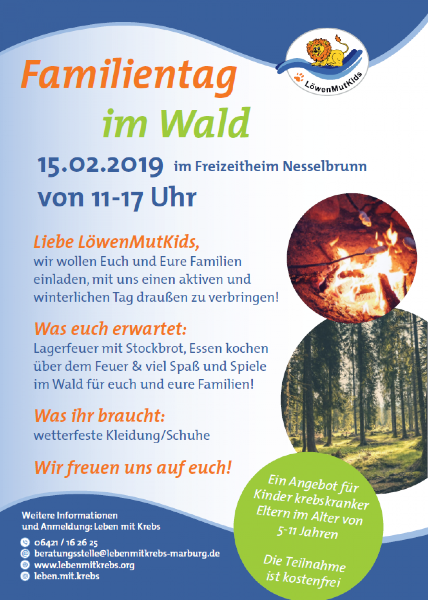 Familientag Wald